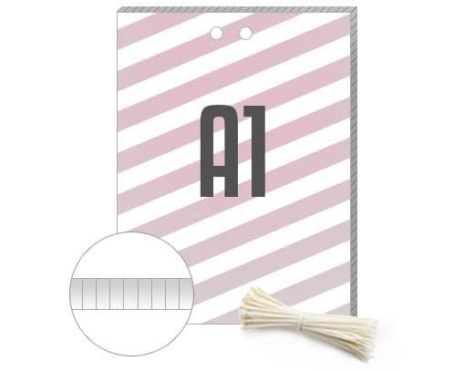 Hohkammerplakate A1 mit Kabelbindern für den Wahlkampf