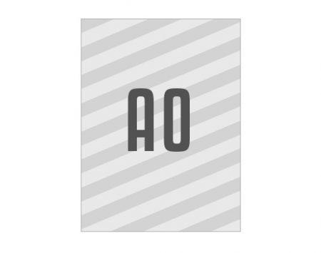 Wahlplakat A0 Affichenpapier