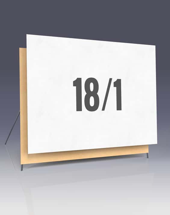 Affichenpapier 18/1 Plakate - Großflächenplakate für Ihren Wahlkampf