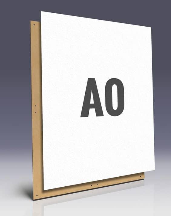 Affichenpapier A0 Plakate - ideal zum Plakatieren auf Hartfaserplatten