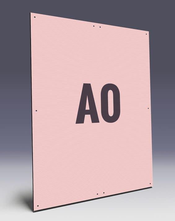 Hohkammerplakate A1 mit Kabelbindern für den Wahlkampf - WPS Wahlplakat Service GmbH