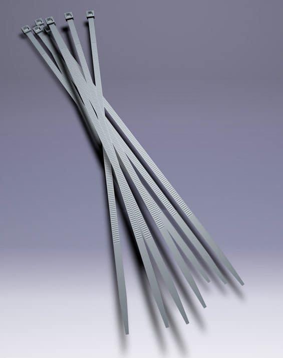 Kurze kleine Kabelbinder für Wahlwerbung und Plakatierung mit Hohlkammerplakaten